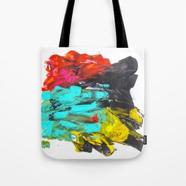 Paint t black VI Tote Bag
