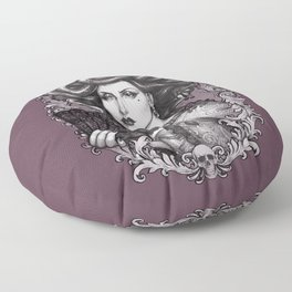 MEDUSA IMPERATRIX MUNDI Floor Pillow