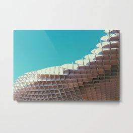 Parasol modern architectural photography Metal Print
