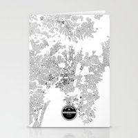 sydney Stationery Cards featuring SYDNEY by Maps Factory