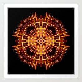 Static Art Print