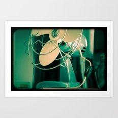fan.2 Art Print