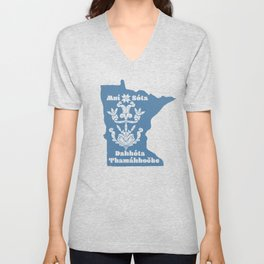 Minnesota: Dakota Homelands Unisex V-Neck