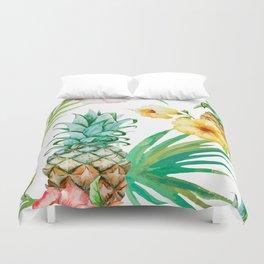 Pines & palms Duvet Cover