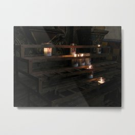 Soft candles Metal Print