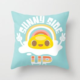 Sunny Side Up! Throw Pillow