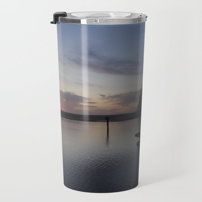 Morro Bay sunset Travel Mug