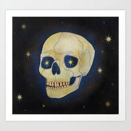 Blue Shift Art Print