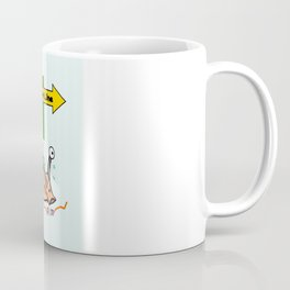 THE RACE - the turtle and the snail Coffee Mug