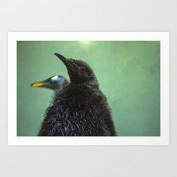 penguins//2 Art Print