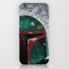 Boba Fett palette knife painting Slim Case iPhone 6