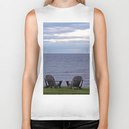Seating by the Sea Biker Tank