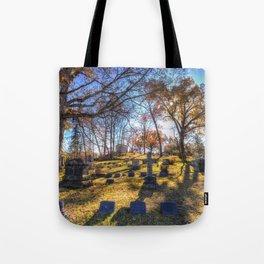 Sleepy Hollow Cemetery New York Tote Bag