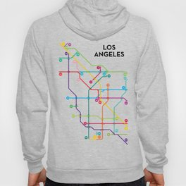 Los Angeles Freeway System Hoody