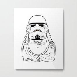 Buddah Trooper Metal Print