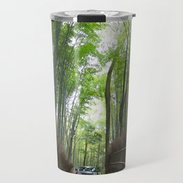 Arashiyama Bamboo Forest Kyoto Japan Travel Mug