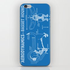 The Aerodynamics of a Basset Hound iPhone Skin