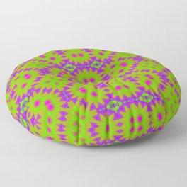 70s floral Floor Pillow