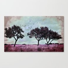 A something in a summer´s day Canvas Print