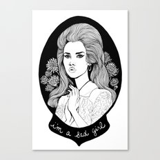 Sad Girl Canvas Print
