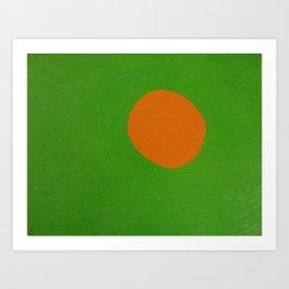 Happy Sun in the Murk Art Print