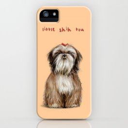 Shih Tzu iPhone Case