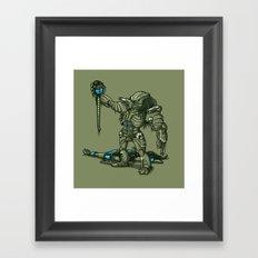 FATALITY Framed Art Print