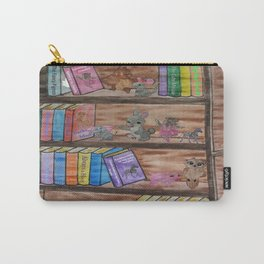 Animal Library Carry-All Pouch