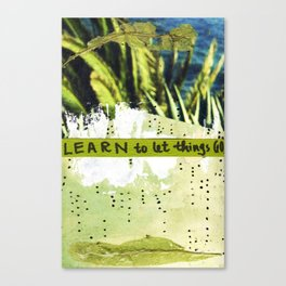 Learning to Let Things Go. Canvas Print