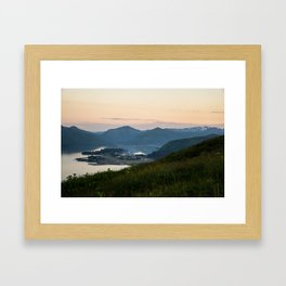 Island Mountaintop Framed Art Print