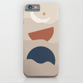 Moon Phase Boats iPhone Case