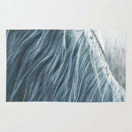 Horse mane photography, fine art print n°1, wild nature, still life, landscape, freedom Rug
