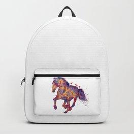 Running Stallion Silhouette Backpack