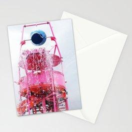 Aqua Park Stationery Cards