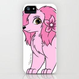 Sakura the Dog iPhone Case