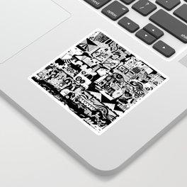 City Life Sticker