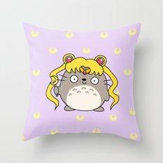 Sailor Ghibli Throw Pillow