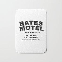 Psycho inspired Bates Motel logo Bath Mat