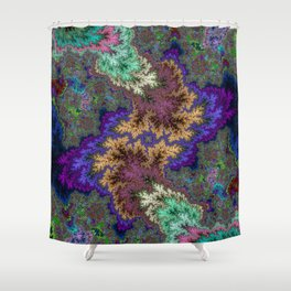 Fractal Abstract 53 Shower Curtain
