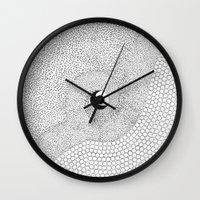 yin yang Wall Clocks featuring yin yang by Pao Designs