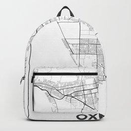 Minimal City Maps - Map Of Oxnard, California, United States Backpack