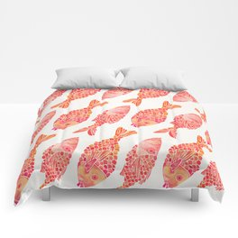 Indonesian Fish Duo – Melon Palette Comforters