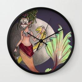 Mermaid Voodoo queen Wall Clock