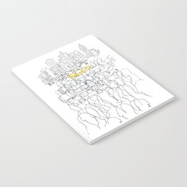 NYC yellow cab Notebook