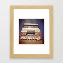 Columbian Hotel Framed Art Print