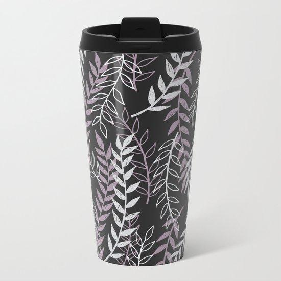 Leafage Metal Travel Mug