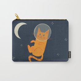 Floating Space Cat Carry-All Pouch