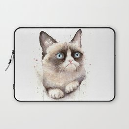 Angry Cat Laptop Sleeve