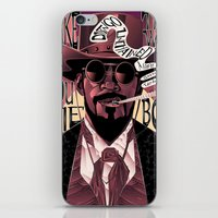 django iPhone & iPod Skins featuring Django Poster by eos vector