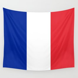 Flag of France, HQ image Wall Tapestry
